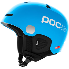 POC POCito Auric Cut Spin Kask Dzieci, fluorescent blue